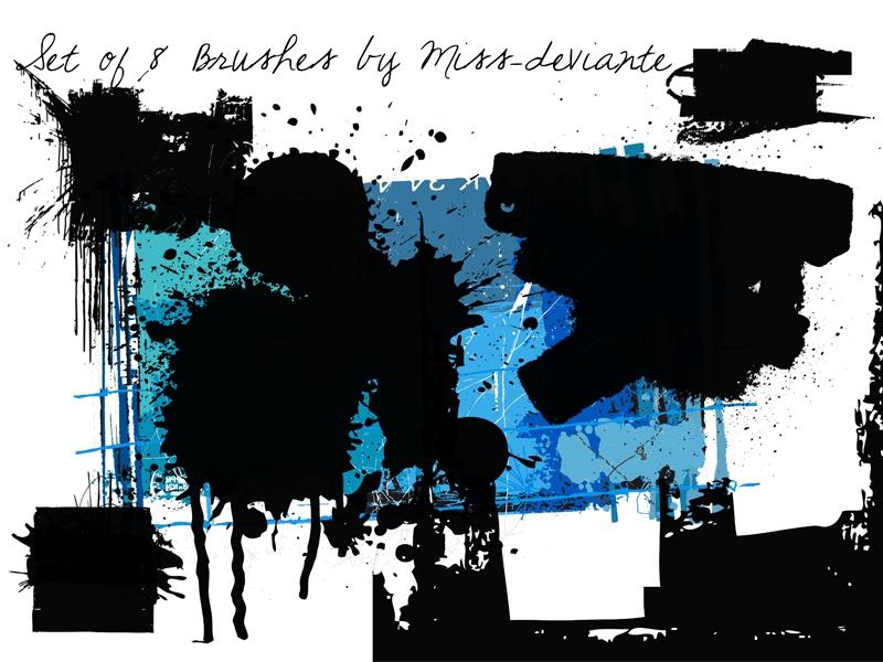 Grunge Brushes Photoshop brush