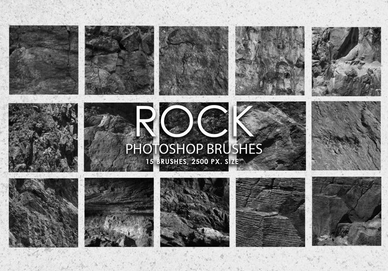 Free Rock Photoshop Brushes Photoshop brush
