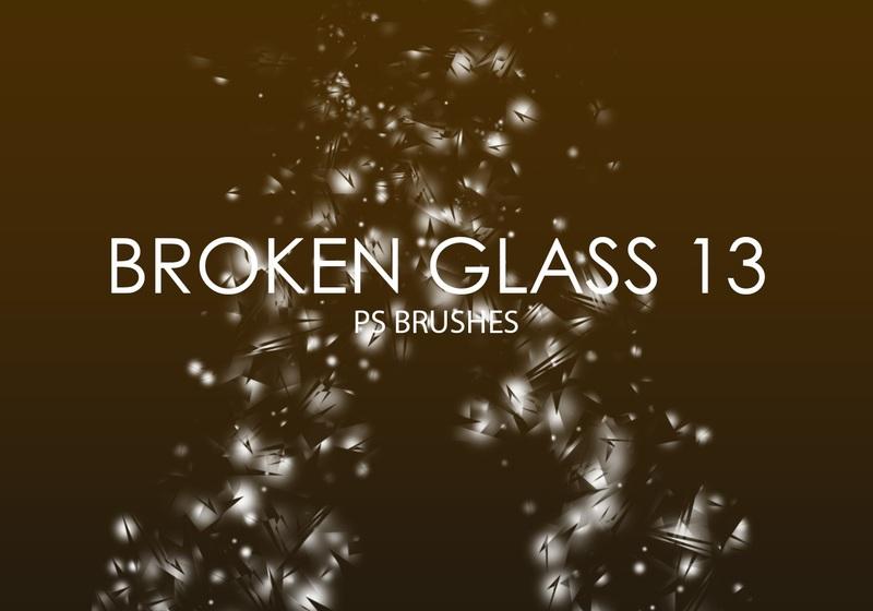 Free Broken Glass Photoshop Brushes 13 Photoshop brush