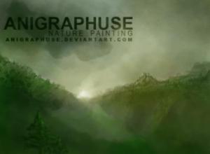Anigraphuse Nature Brush Painting Set Photoshop brush