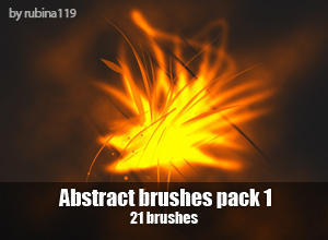 Abstract Brushes Pack 1 Photoshop brush