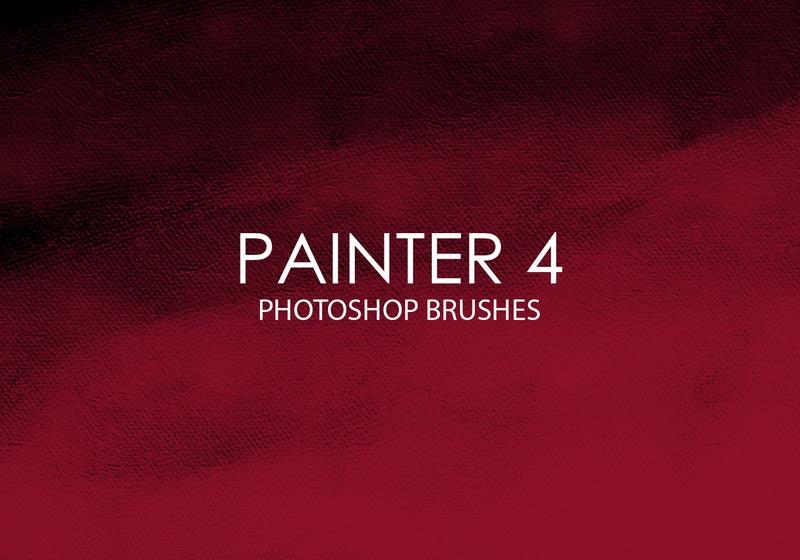 Free Painter Photoshop Brushes 4 Photoshop brush