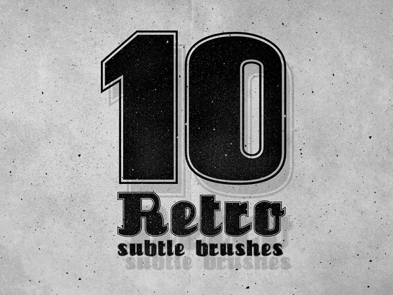10 Photoshop Subtle Brushes Photoshop brush