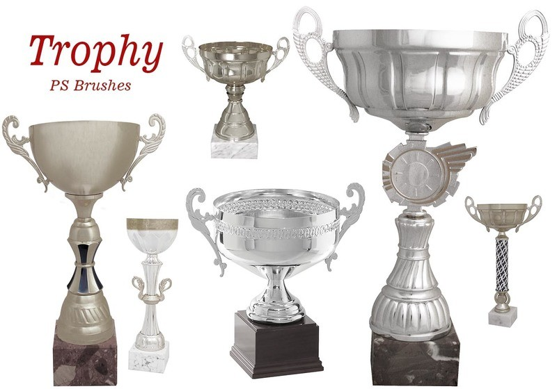 20 Trophy PS Brushes abr.vol.2 Photoshop brush