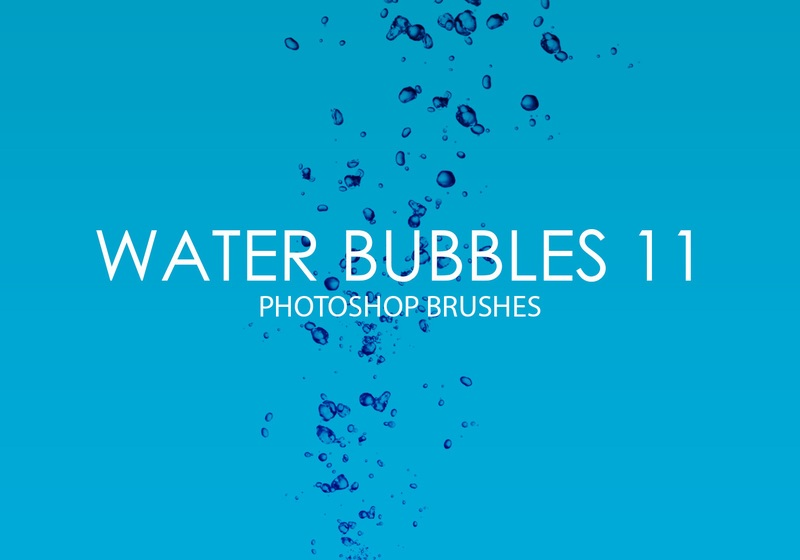 Free Water Bubbles Photoshop Brushes 11 Photoshop brush