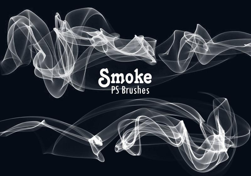 20 Smoke PS Brushes abr. Vol.10 Photoshop brush