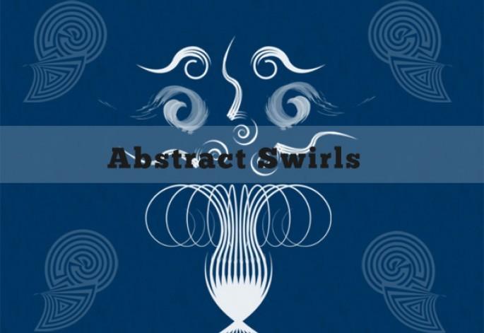 Abstract Swirls Photoshop brush