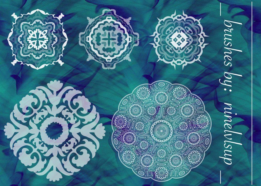 Ornate Mandala Brushes Photoshop brush