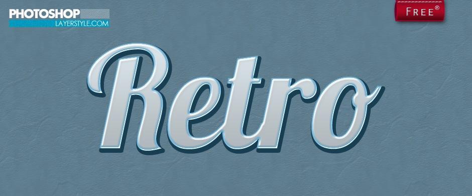 Retro Style 2 Photoshop brush