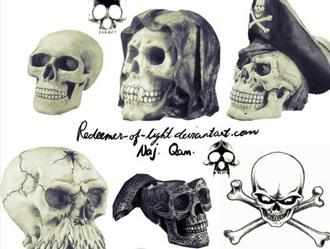 Skull Brushes Photoshop brush