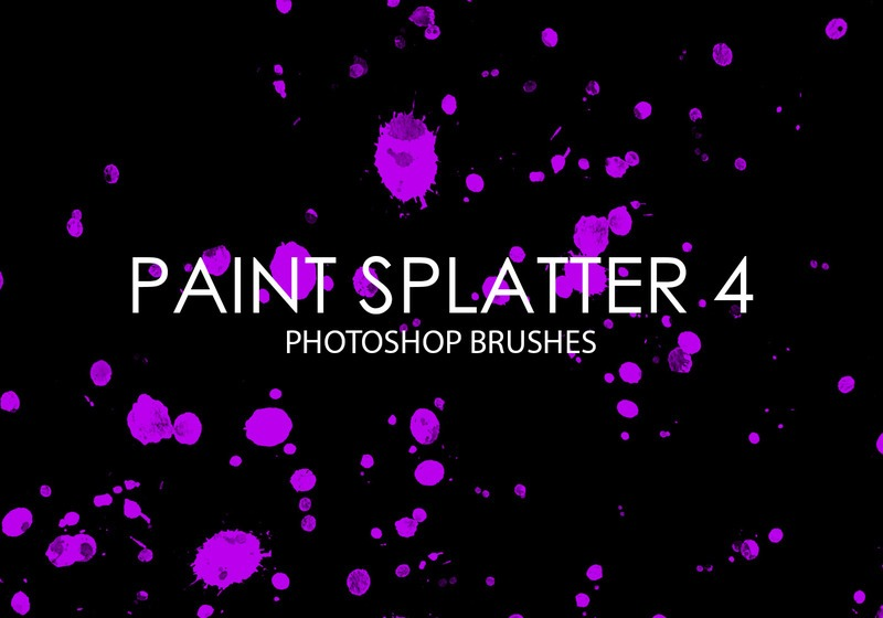 Free Paint Splatter Photoshop Brushes 4 Photoshop brush