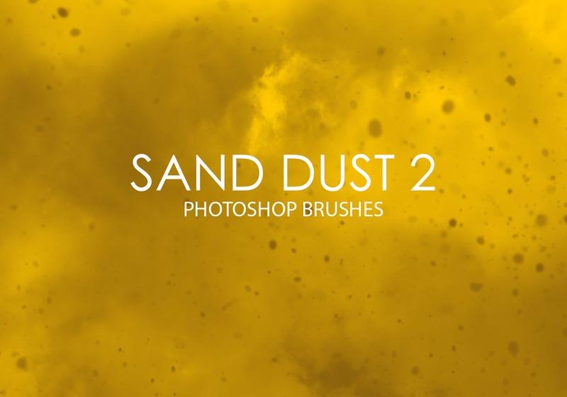 Free Sand Dust Photoshop Brushes 2 Photoshop brush