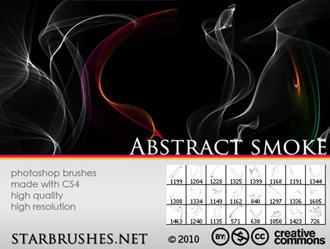 Abstract Smoke Photoshop brush