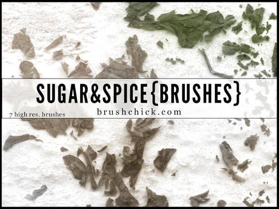 Sugar & Spice Photoshop brush