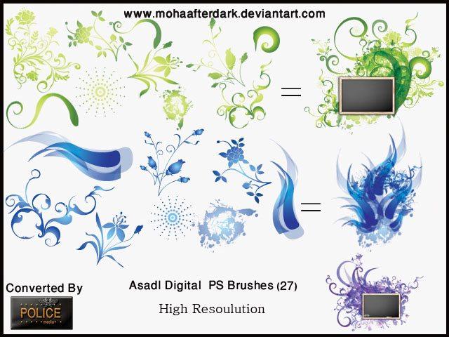 ASdal Digital Photoshop brush