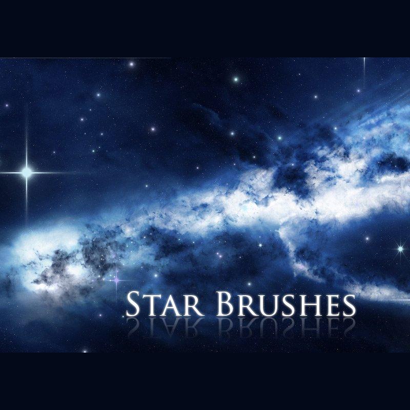 7 Star Brushes Photoshop brush
