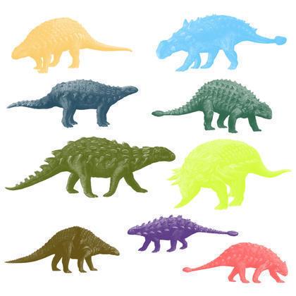 Armoured Dinosaurs Brushes 2 Photoshop brush