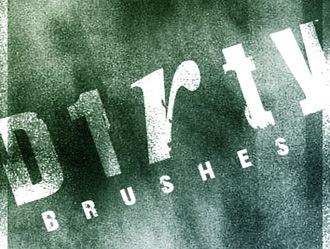 Dirty Brushes Photoshop brush