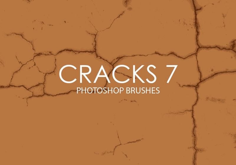 Free Cracks Photoshop Brushes 7 Photoshop brush