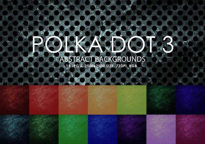 Free Polka Dot Backgrounds 3 Photoshop brush
