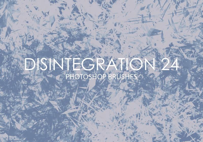 Free Disintegration Photoshop Brushes 24 Photoshop brush