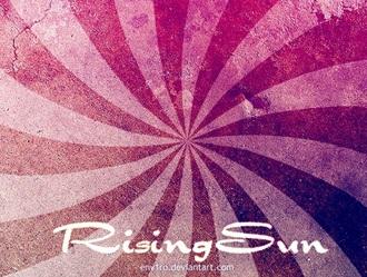 Rising Sun brushes Photoshop brush
