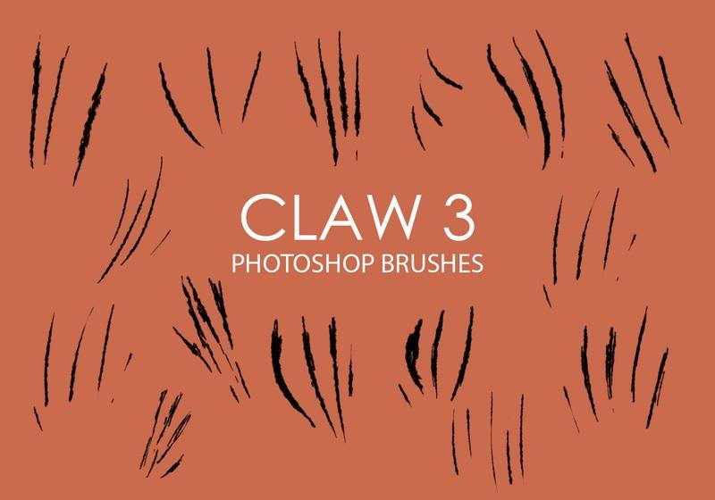 Free Claw Photoshop Brushes 3 Photoshop brush
