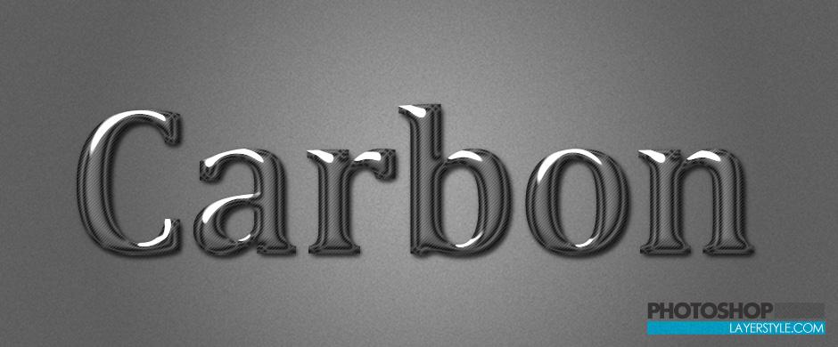 Carbon Styles Photoshop brush