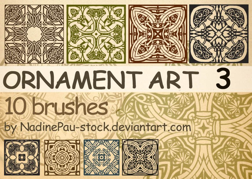 Ornament Art Part 3 Photoshop brush