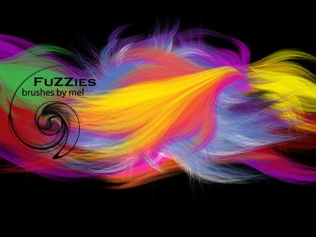 Fuzzies Brushes Photoshop brush