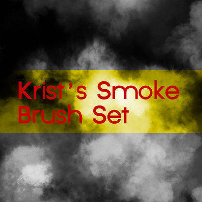 Krist's Smoke Brushes Photoshop brush