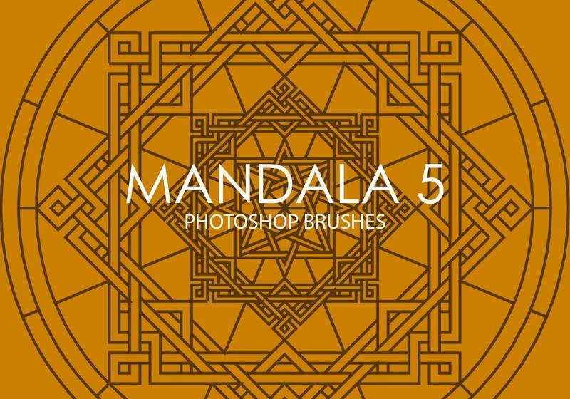 Free Mandala Photoshop Brushes 5 Photoshop brush