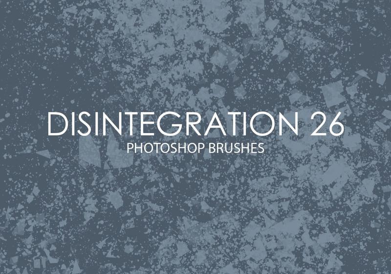 Free Disintegration Photoshop Brushes 26 Photoshop brush