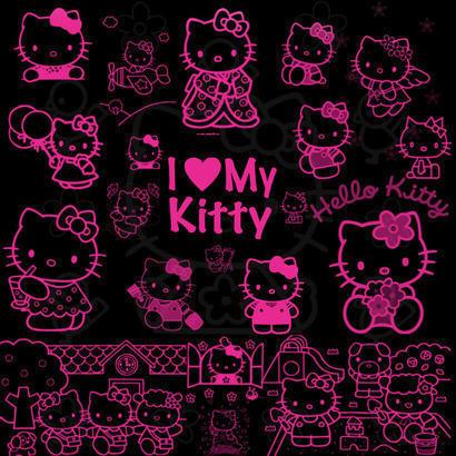 Hello Kitty Photoshop brush
