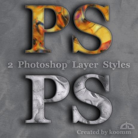 Photoshop Styles for Text Photoshop brush