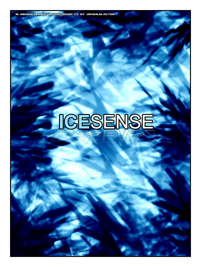 Ice Sense Photoshop brush