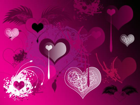 Valentines Brushes Photoshop brush
