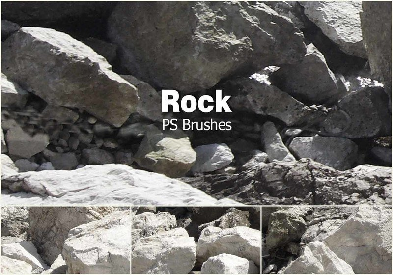 20 Rock Texture PS Brushes abr vol.11 Photoshop brush