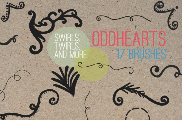 Swirls And Twirls - Brushes Photoshop brush