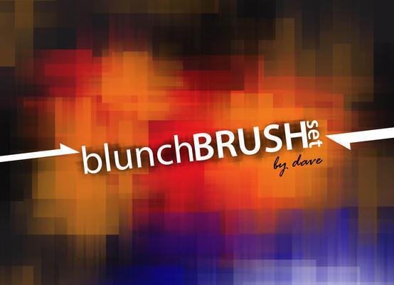 Blunch Brushes Photoshop brush