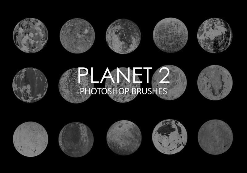 Free Abstract Planet Photoshop Brushes 2 Photoshop brush