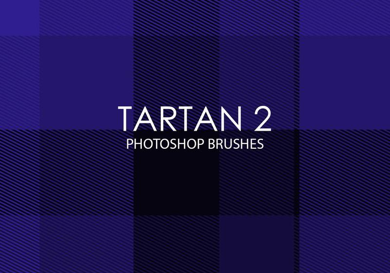 Free Tartan Photoshop Brushes 2 Photoshop brush