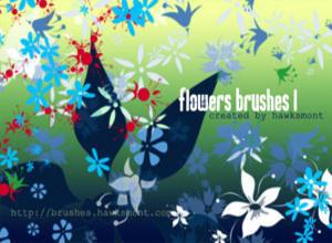 Flower Brushes Mega Pack Photoshop brush
