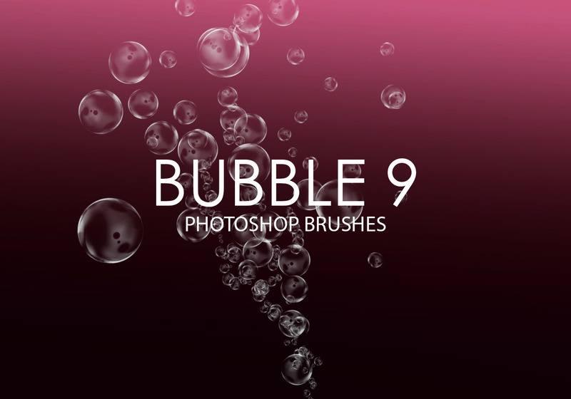 Free Bubble Photoshop Brushes 9 Photoshop brush