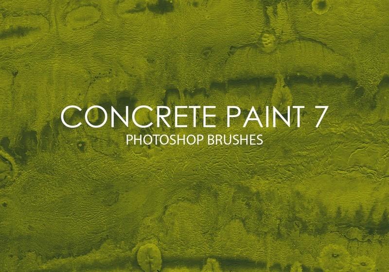 Free Concrete Paint Photoshop Brushes 7 Photoshop brush