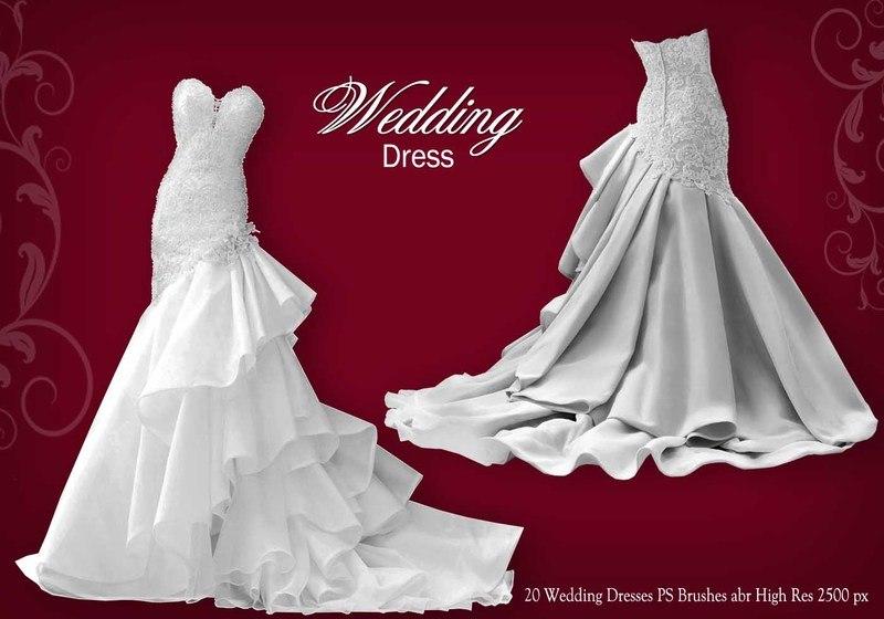 Wedding Dress PS Brushes abr Photoshop brush