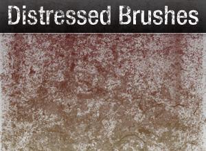 Distressed Grunge Pack – 26 Brushes Photoshop brush