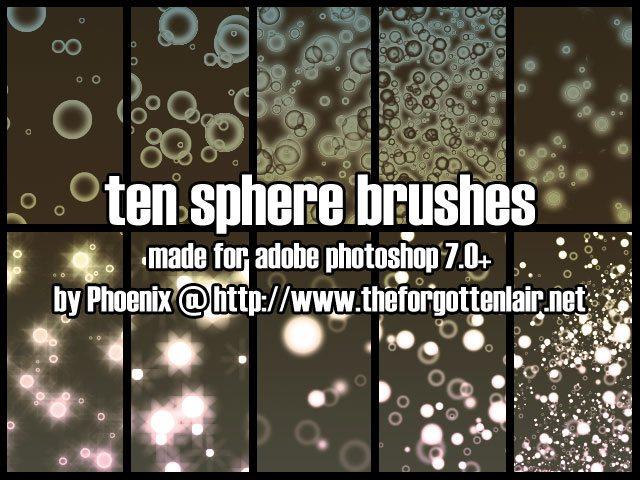Sphere Brushes Photoshop brush