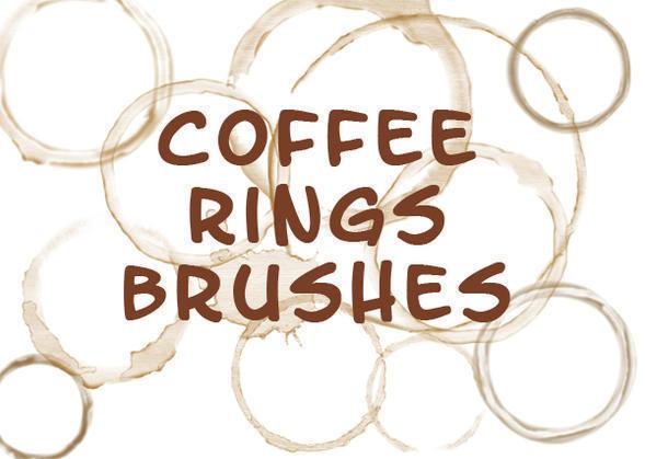 Coffee Mug Ring Stains Brushes Photoshop brush