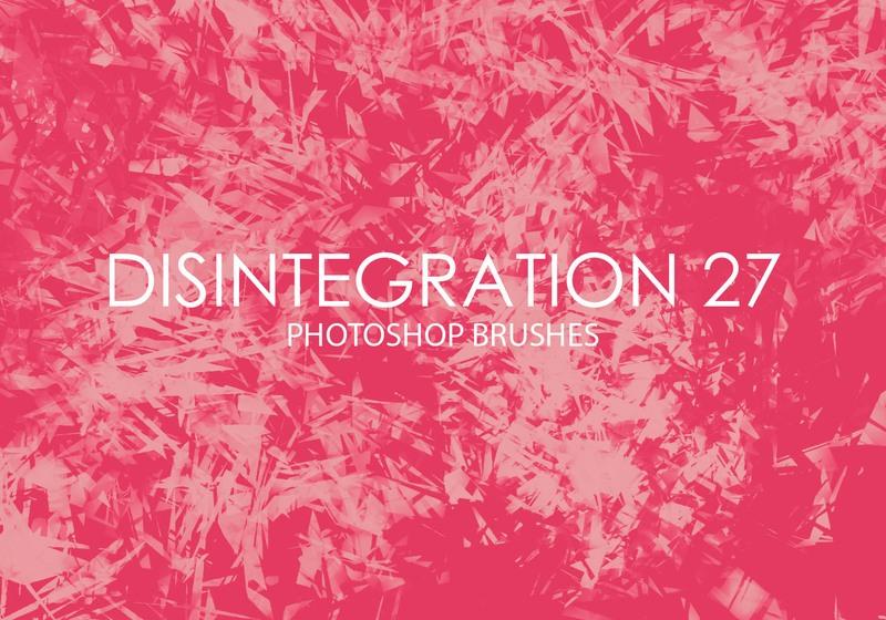 Free Disintegration Photoshop Brushes 27 Photoshop brush